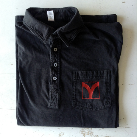 TheCBP.com - M.A.L's signature pre-worn black polo