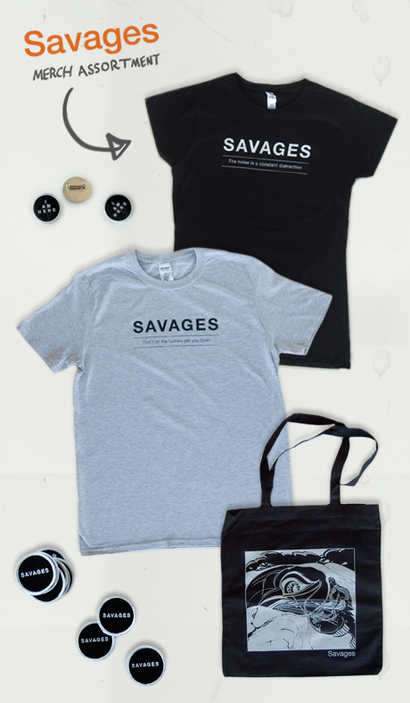 TheCBP.com - Savages Merch Assortment