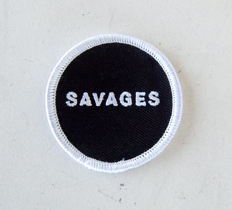 TheCBP.com - Savages Merch Assortment - Fabric Patch Zoom Shot