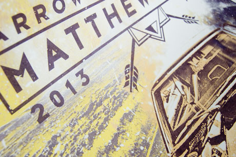 TheCBP.com - Matthew Good 2013 Tour Poster Zoom Image 1