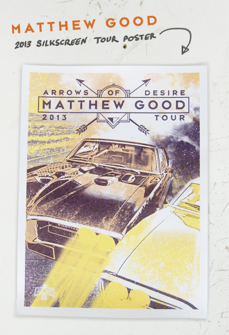 TheCBP.com - Matthew Good 2013 Tour Poster