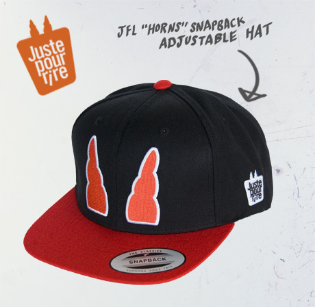 "TheCBP.com - Just For Laughs ""Horns"" Snapback Adjustable Hat"