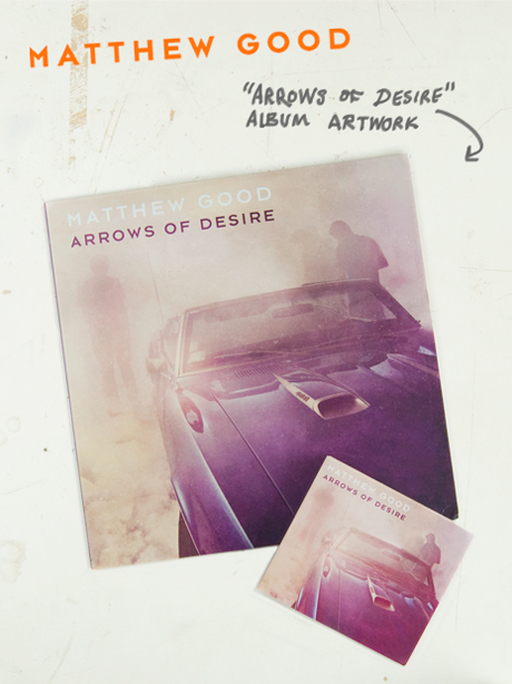 TheCBP.com - Matthew Good ' Arrows of Desire' album artwork