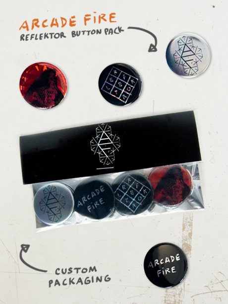 TheCBP.com - Arcade Fire Reflektor Deluxe Button Pack