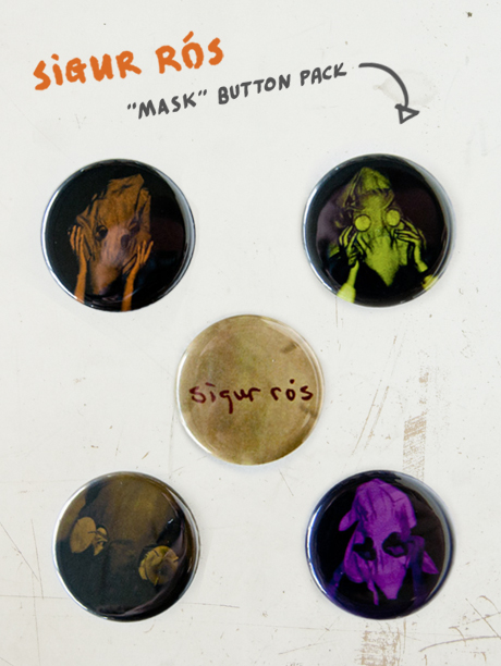 TheCBP.com - Sigur Ròs 'Mask' button pack