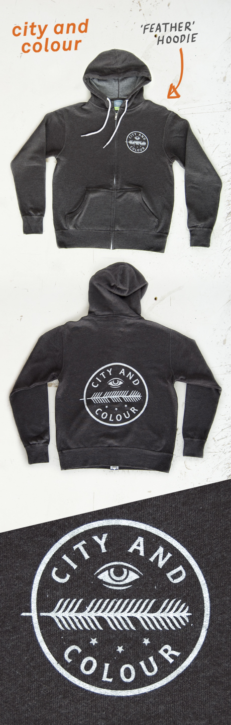 TheCBP.com - City and Colour 'Feather' Hoodie Webpost