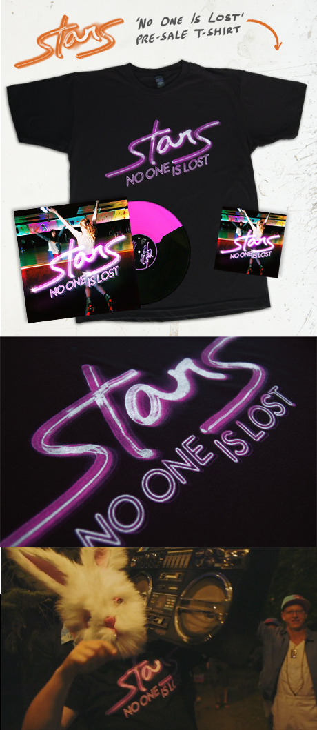 TheCBP.com - Stars' No One Is Lost release and T-shirt