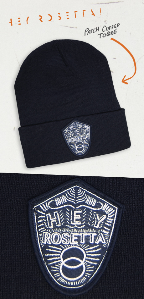 TheCBP.com - Hey Rosetta! Patch Cuffed Toque