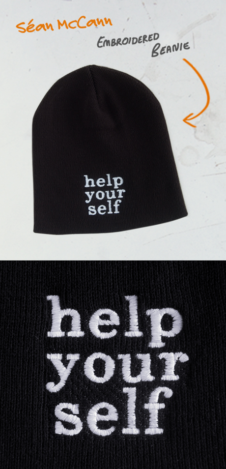 TheCBP.com - Sean McCann Help Your Self beanie