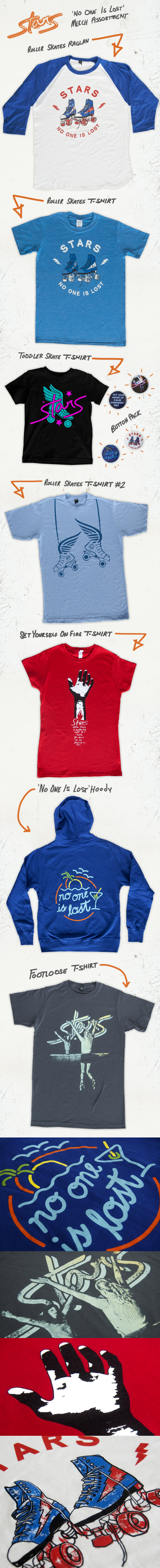 TheCBP.com - Stars' No One Is Lost Merch Assortment
