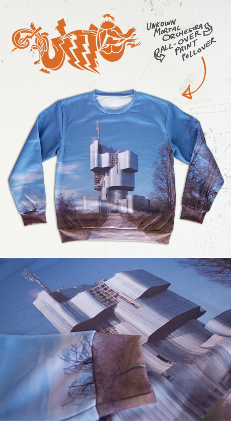TheCBP.com - Uknown Mortal Orchestra All-Over Print Sweater